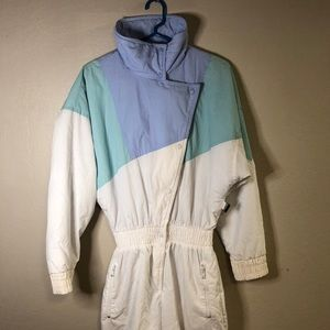 Vintage Ladies Edelweiss One Piece Ski Suit